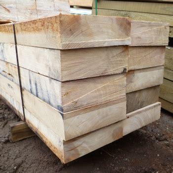 mixed hardwood timber fencing sleepers   mm