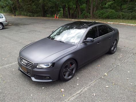 matte metallic gray plasti dipped   car