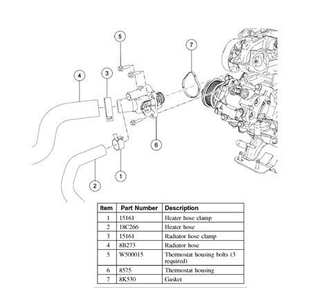 2007 ford fusion heater hose removal how to change thermostat on 2007 ford fusion