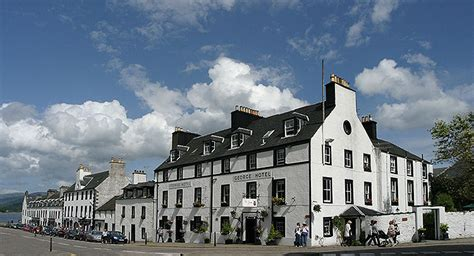 Summer Garden Bar - hotel the george inveraray argyll scotland 01499 302111