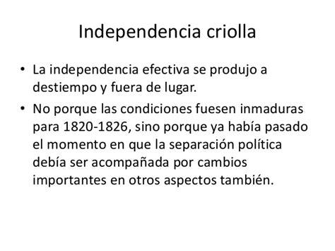 dejando por fuera otros importantes sectores que tambien conforman lo historia peru independencia clase de 1810