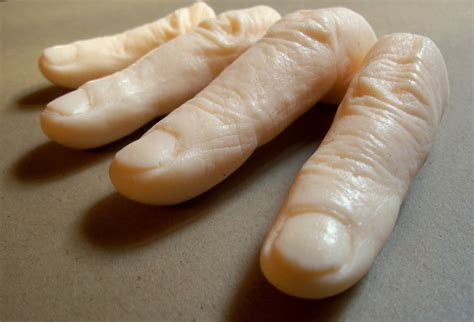 Creepy Home Decor by Halloween Soap Fingers Set