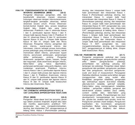 Pengantar Psikologi Proyektif 06b bab ii program s1 2