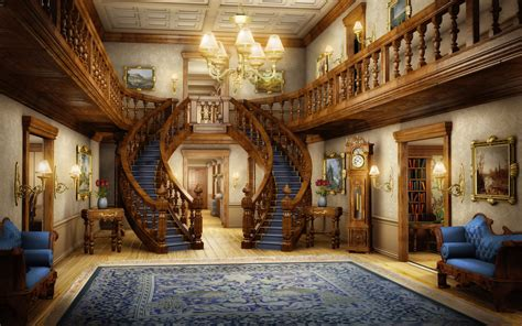 Luxury Home Design Inside by Eh Foyer By Owen C On Deviantart