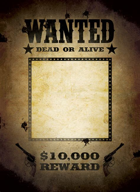Wanted Poster Template 54 Free Printable Word Psd Wanted Poster Psd