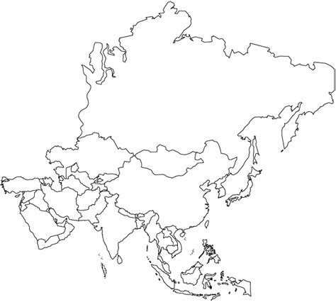 fill in the blank map of asia asia map blank asia map blank asia map blank and white