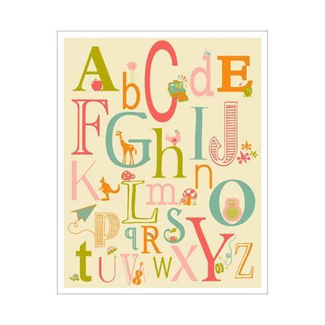 printable alphabet letters nursery 181 best images about baby art vintage on pinterest