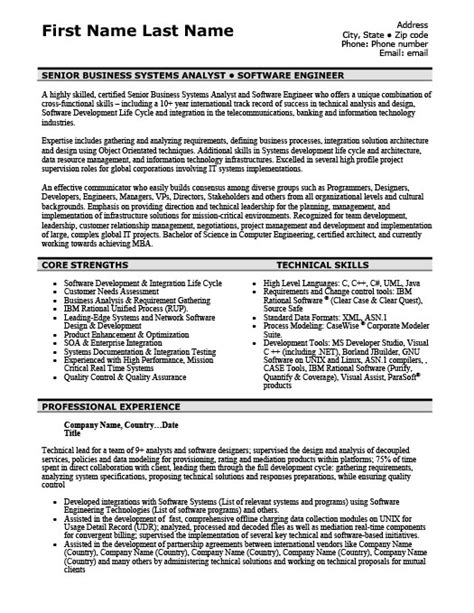 Resume Templates 101 by Software Engineer Resume Template Premium Resume Sles