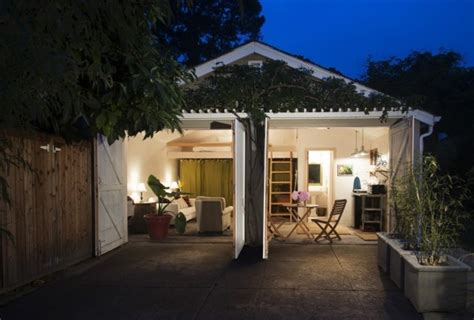 car garage converted  backyard tiny cottage