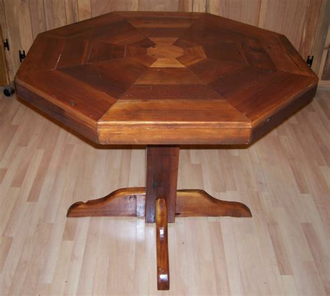 octagon kitchen table tables na idaho wood furniture boise caldwell custom wooden products carpenter idaho