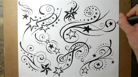 shooting star tattoo designs shooting designs sketching ideas