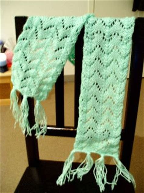 fishtail lace knitting pattern fishtail lace scarf and free knitting on