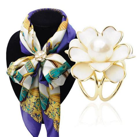 Anting Korea Acrylic Flower Shape Earrings aliexpress buy korean simple black white plastic camellia flower scarf buckle scarf