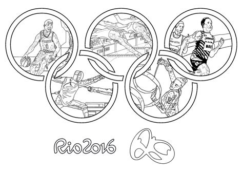 olympic rings coloring page rio 2016 olympic rings coloring page coloring home