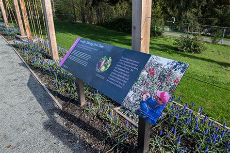 Botanical Garden Signs Interpretive Signs In The Garden Ubc Botanical Garden