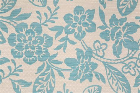 Upholstery Fabric Blue Pattern Craftex Chenille Patterned Upholstery Fabric In Blue