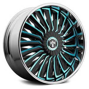 Cool Track Lighting Dub 174 Turbine Wheels Custom Painted Rims
