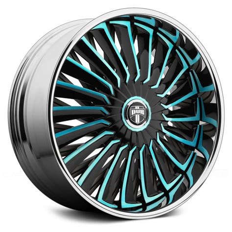 Handmade Wheels - dub 174 turbine wheels custom painted rims