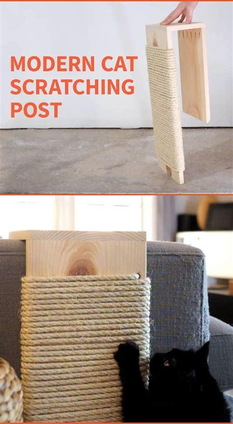 modern scratching post de 25 bedste id 233 er inden for cat furniture p 229 pinterest