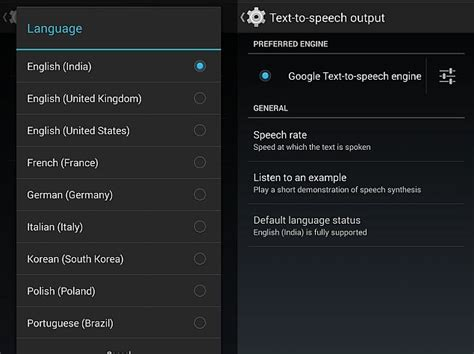 android language text to speech app updated with indian language support technology news