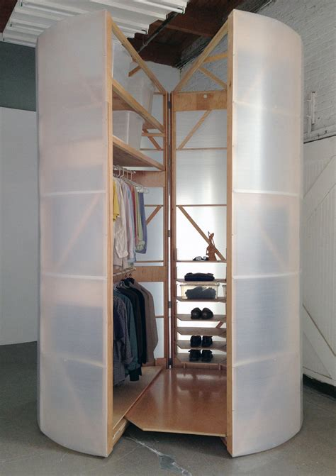 Movable Closets by Tuberoom A Mobile Walk In Closet That Is Functional And
