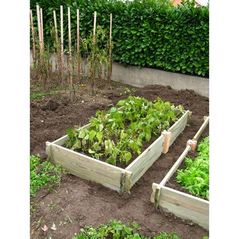Jardin Potager En Bois by Le Potager De Jardin Rectangulaire En Bois Non Trait 233