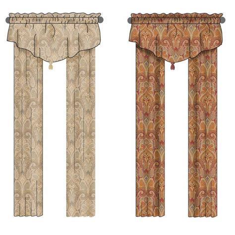 waverly home classics curtains shop waverly waverly home classics 84 in l ruby back tab