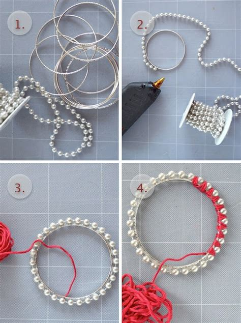 How To Make Handmade Bracelets With Threads - craft diy jewellery jewelry pictures