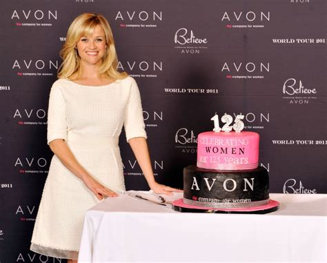 Reese Witherspoon Is An Avon by Reese Witherspoon Didn T Let Anxiety Fear Stop From