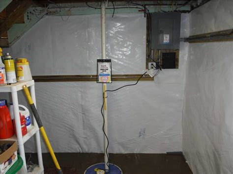 ayers basement systems basement waterproofing before and