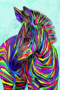 Zebra Print Duvet Pop Art Zebra Digital Art By Jane Schnetlage