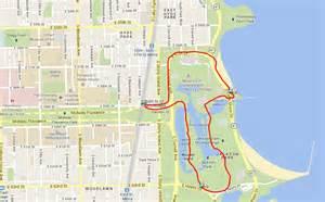jackson park chicago map best runs in chicago ekneewalker