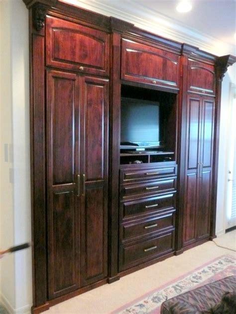 bedroom cabinets traditional bedroom santa barbara  closet crafters