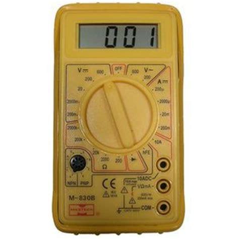 mode pocket digital multimeter 3 1 2 digits diode test transistor test protective holster