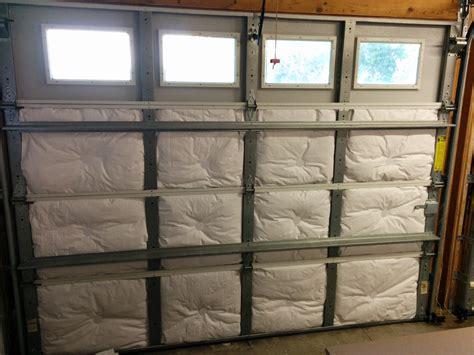 garage door insulation part 2 reflectix radiant heat