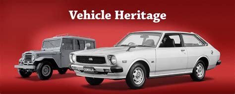 Toyota Global Site   Vehicle Heritage