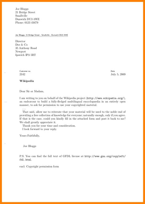 Business Letter Template With Cc 8 Cc Letter Format Sle Day Care Resume