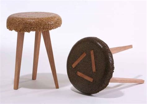 marvelous sustainable furniture made from sawdust and resin