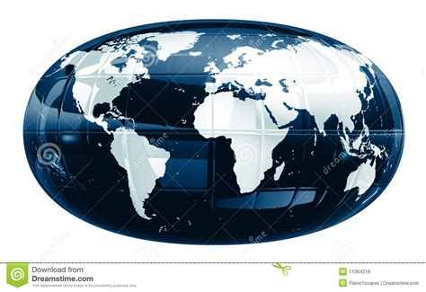 Glow In The F1s a world map glossy f1s royalty free stock images image