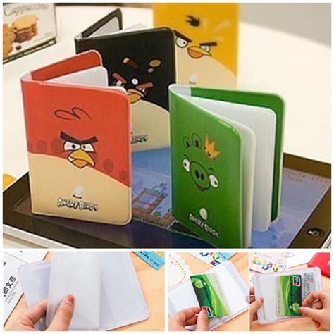 Promo Dompet Kartu Atau Card Termurah jual sft1730 random dompet kartu card holder angry bird grosirimpor