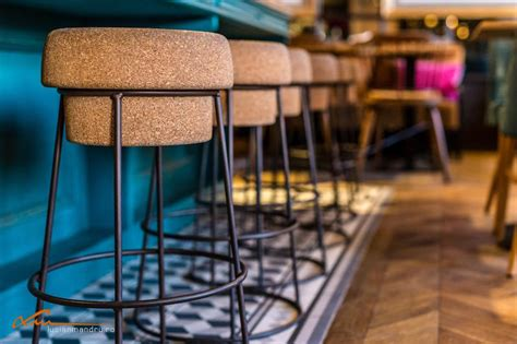 Chagne Cork Bar Stools by Coffee Place By Day Restaurant By At Bujole In Cluj