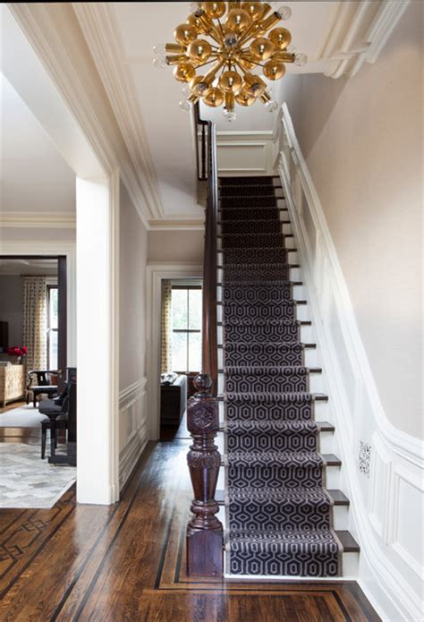 Townhouse Stairs Design New York East Side Townhouse Contemporary Staircase New York By Woodwork