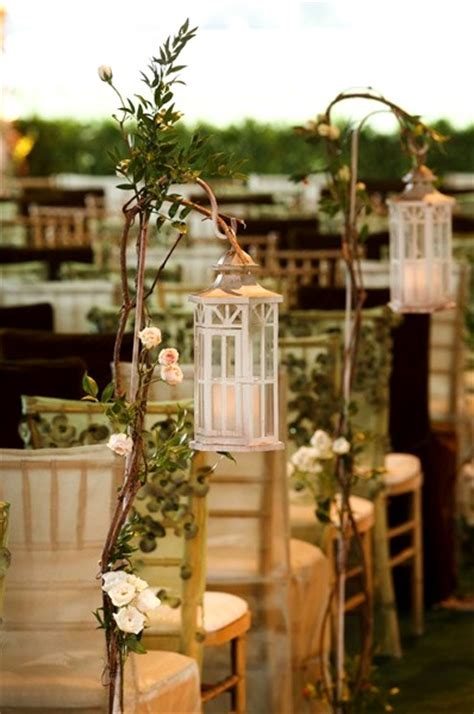 garden wedding aisle decorations pink lover