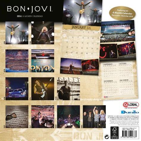 Calendar Shop Ireland Bon Jovi 2014 Calendar Calendars 2014 At Shop Ireland