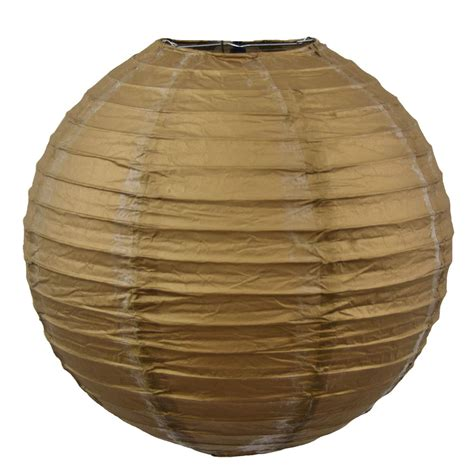 How To Make Rice Paper Lanterns - gold 12 quot rice paper lantern
