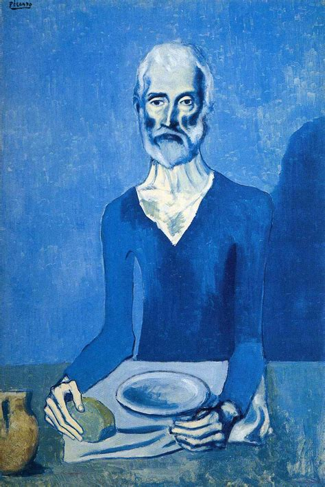 picasso paintings blue ascet pablo picasso wikiart org