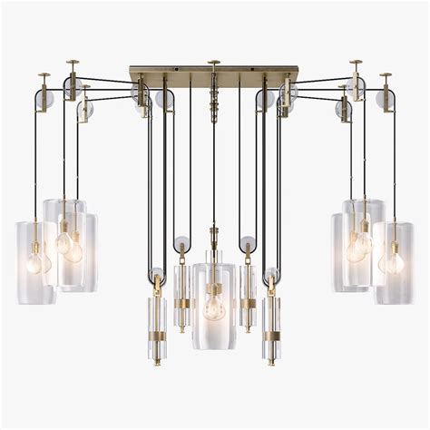 Counterweight Chandelier Counterweight Chandelier Light 3d Ma