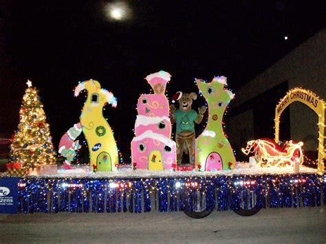 grinch stole christmas parade float google search