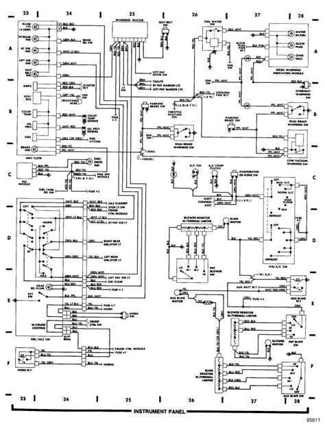 1990 ford bronco wiring diagram wiring diagram manual