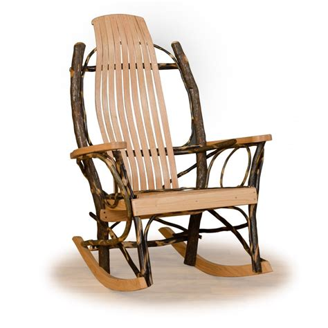 Rustic Rocking Chair by Rustic Hickory And Oak